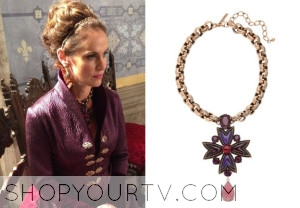 Reign: Season 1 Episode 13 Mary of Guise's Crystal Necklace