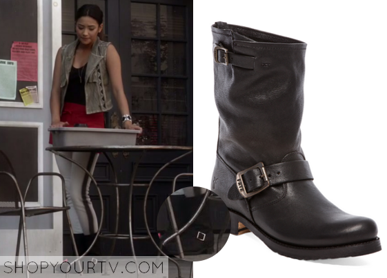 Emily fields leather jacket