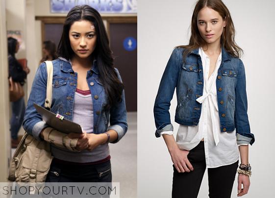 PLL Season 1 Fashion, Clothes, Style and Wardrobe worn on TV