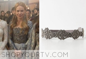 Reign: Season 1 Episode 7 and 13 Greer's Silver Belt