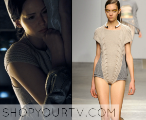 Catching Fire: Katniss' Knitted Sweater Bodysuit
