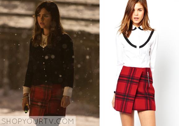 Doctor Who: Christmas Special Clara's Plaid Skirt | Shop Your TV