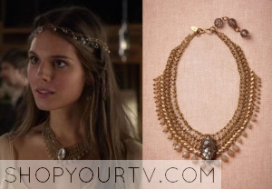 Reign: Season 1 Episode 5 Kenna's Crystal Necklace