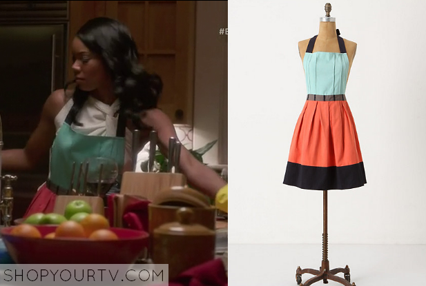 Being mary jane season 1 episode 2 mary jane s apron for Anthropologie cuisine couture apron