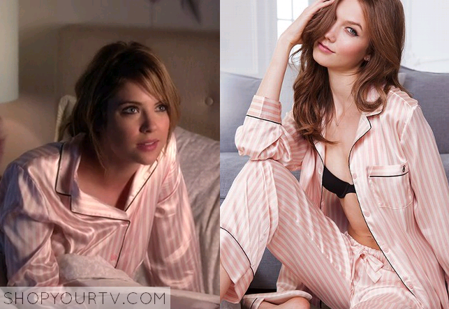 655e1ab534bd3 Pretty Little Liars: Season 4 Episode 17 Hanna's Pink Striped ...