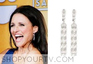 2014 Screen Actor Guild Awards: Julia Louis-Dreyfus' Tassel Earrings