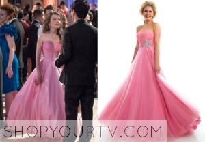THE CARRIE DIARIES: SEASON 2 EPISODE 12 DORRIT'S Pink Prom Dress