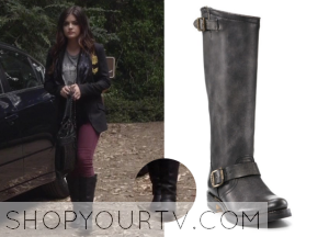 Pretty Little Liars: Season 4 Episode 20 Aria's Tall Buckle Boots