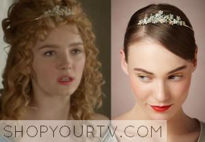 Reign: Season 1 Episode 10 Isobel's Flower Headband
