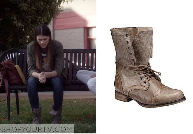Pretty Little Liars: Season 4 Episode 21 Paiges Grey Brown Combat ...