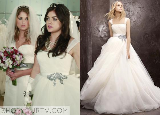 Pretty Little Liars: Season 4 Episode 23 Aria's Bridal Gown