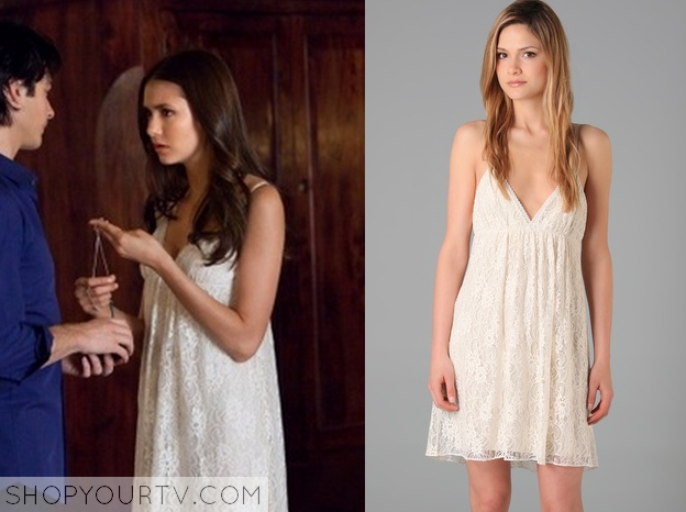 Elena Gilbert Lace Dress