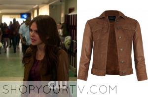 Star-Crossed: Season 1 Episode 5 Emery's Brown Leather Jacket