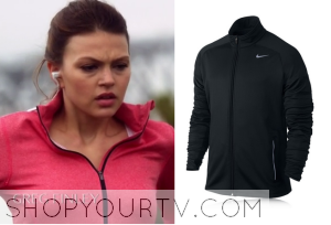 Star-Crossed: Season 1 Episode 6 Emery's Pink Zip Running Jacket