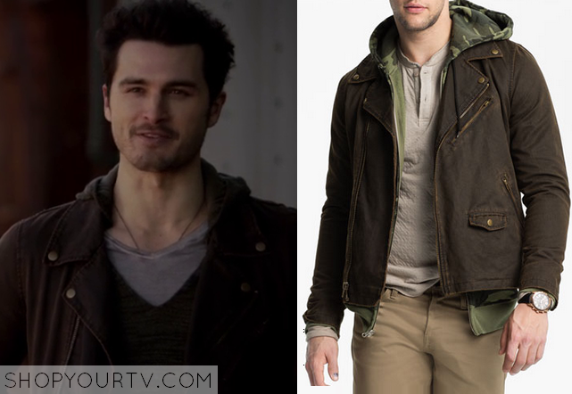 michael malarkey fashion clothes style and wardrobe worn on tv