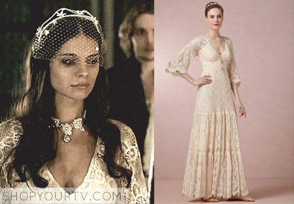 Reign Season 1 Episode 16 Kenna S Wedding Gown Shop Your Tv