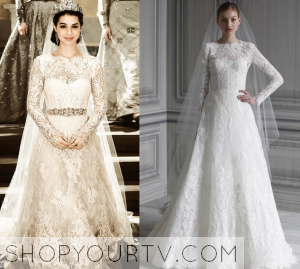 Reign: Season 1 Episode 13 Mary's Wedding Dress