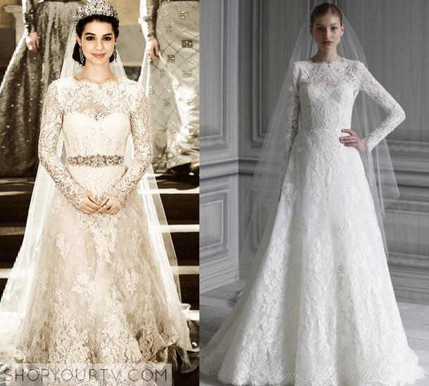Reign season 1 episode 13 marys wedding dress shop your tv for Reign mary wedding dress