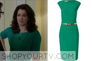 Scandal: Season 3 Episode 11 Mellie's Green Dress
