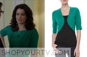 Scandal: Season 3 Episode 11 Mellie's Green Shrug
