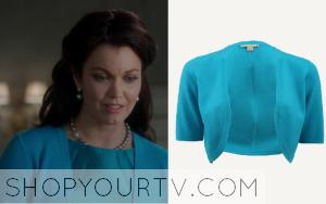 Scandal: Season 3 Episode 12 Mellie's Blue Shrug