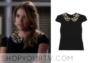 Pretty Little Liars: Season 4 Episode 22 Hanna's Jewel Collar Top