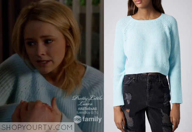 Switched At Birth Season 3 Episode 10 Nikkis Blue Sweater Shop