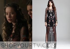 Reign: Season 1 Episode 16 Lola's Jewel Emrboidered Gown