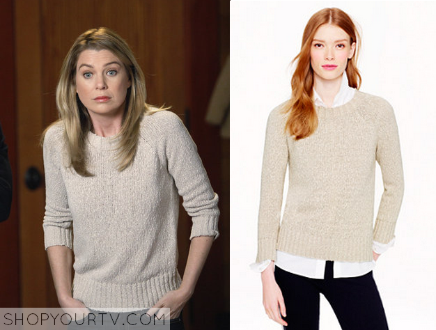 meredith cream sweater