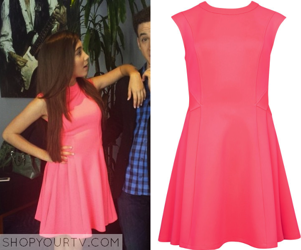 8d0de790f14305 It is the Ted Baker Pink Nistee Skater Dress. Buy it HERE