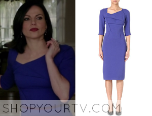 Once Upon a Time: Season 3 episode 18 Regina's pleated blue dress
