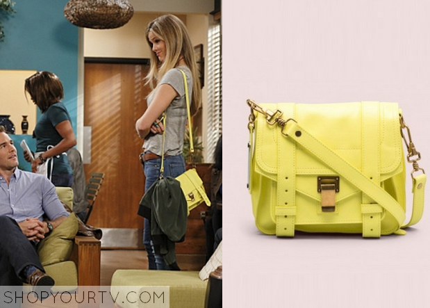 jules yellow bag