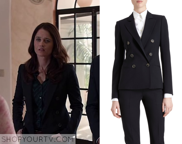 The Mentalist 6x22 Fashion, Clothes, Style and Wardrobe worn