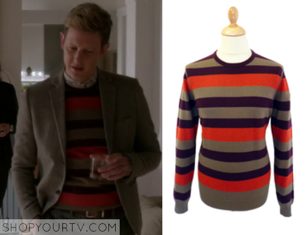 nolan striped sweater