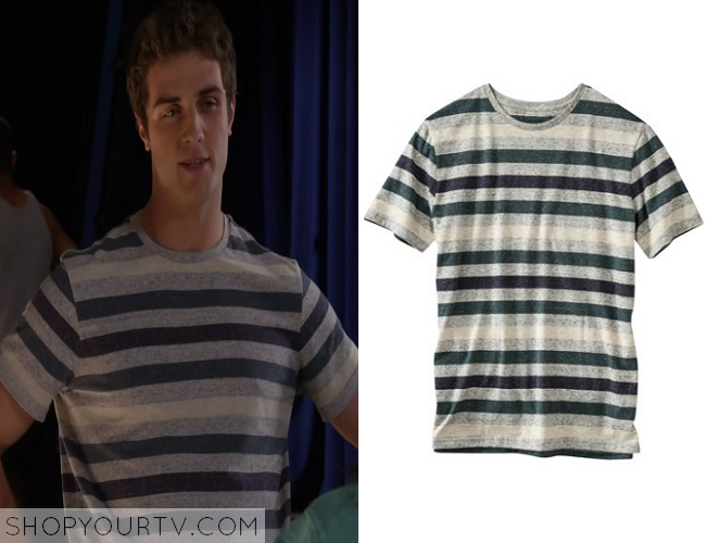 awkward season 4 episode 6 matty�s striped tshirt � shop