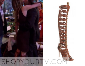 Real Housewives of New York City: Season 6 Episode 11 Carole's Gladiator Boots