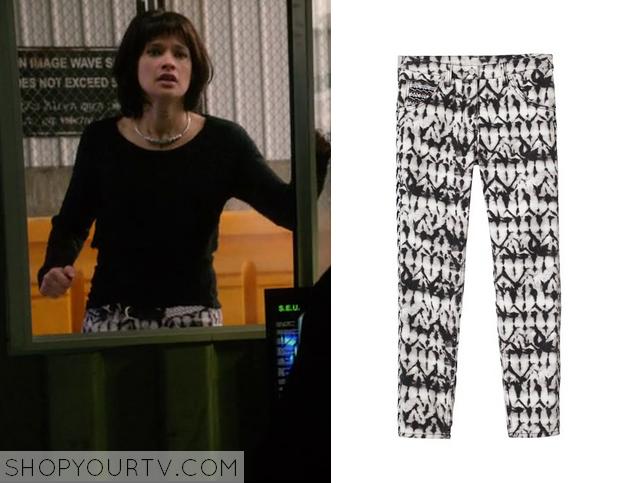 sofia print pants