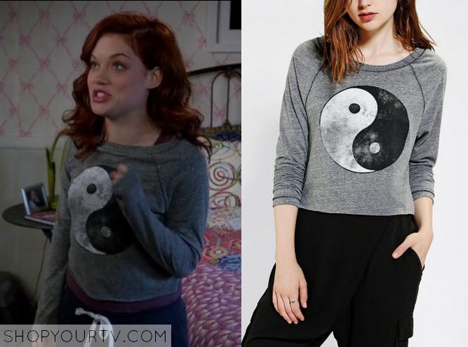 tessa yin yang sweater