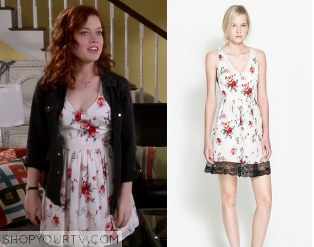 Suburgatory season 3 episode 11 tessas white floral dress shop tessadress mightylinksfo