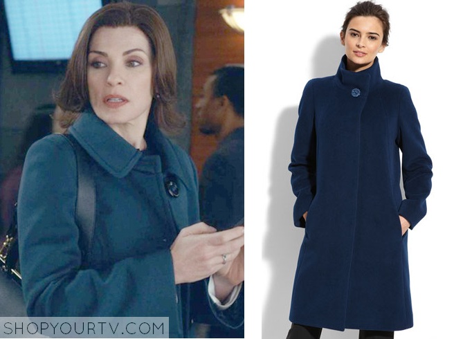 the good wife blue coat