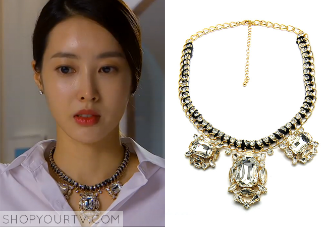 Song Chae Kyung's Statement Necklace