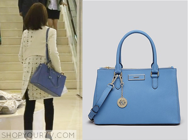 Seo Yi Re's Light Blue Bag