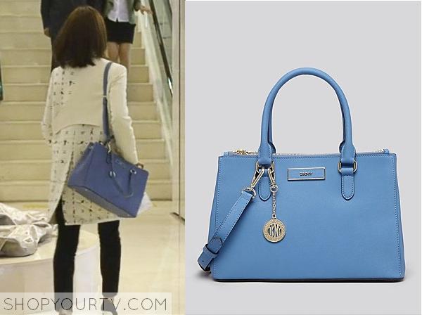 Seo Yi Re's Light Blue Bag