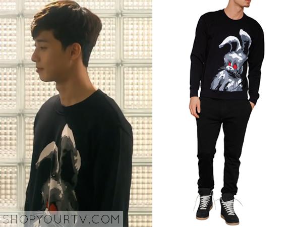 Yoon Dong Ha's Angry Bunny Sweatshirt