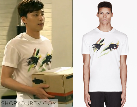 Yoon Dong Ha's Eye Print T-Shirt