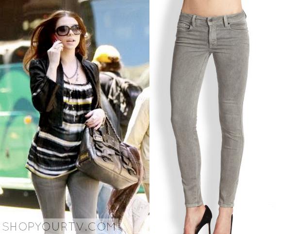 georine grey denim jeans