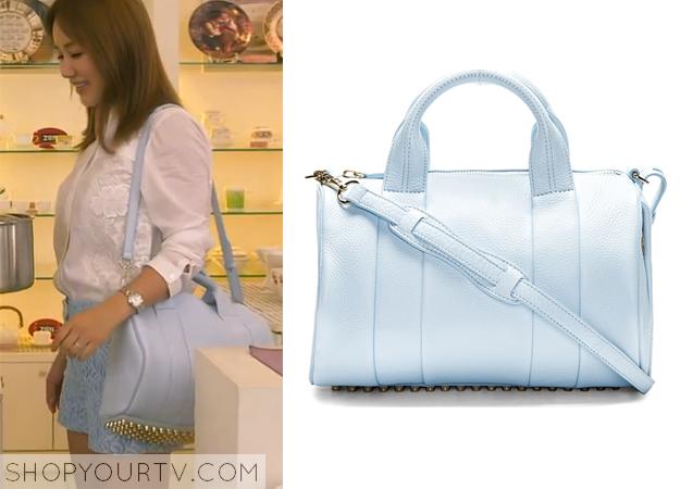 Ban Ji Yeon's Light Blue Bag