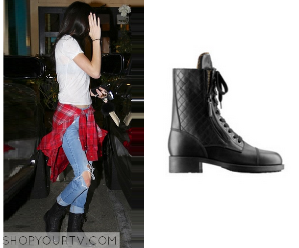 Chanel Quilted Leather Combat Boots Quilted Leather Boots