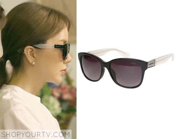 Ban Ji Yeon's Black Sunglasses