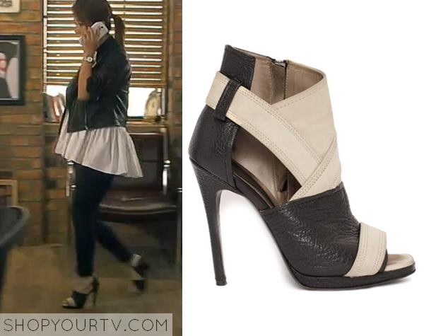 Witch&39s Romance: Episode 8 Ban Ji Yeon&39s Peep Toe Ankle Boots |